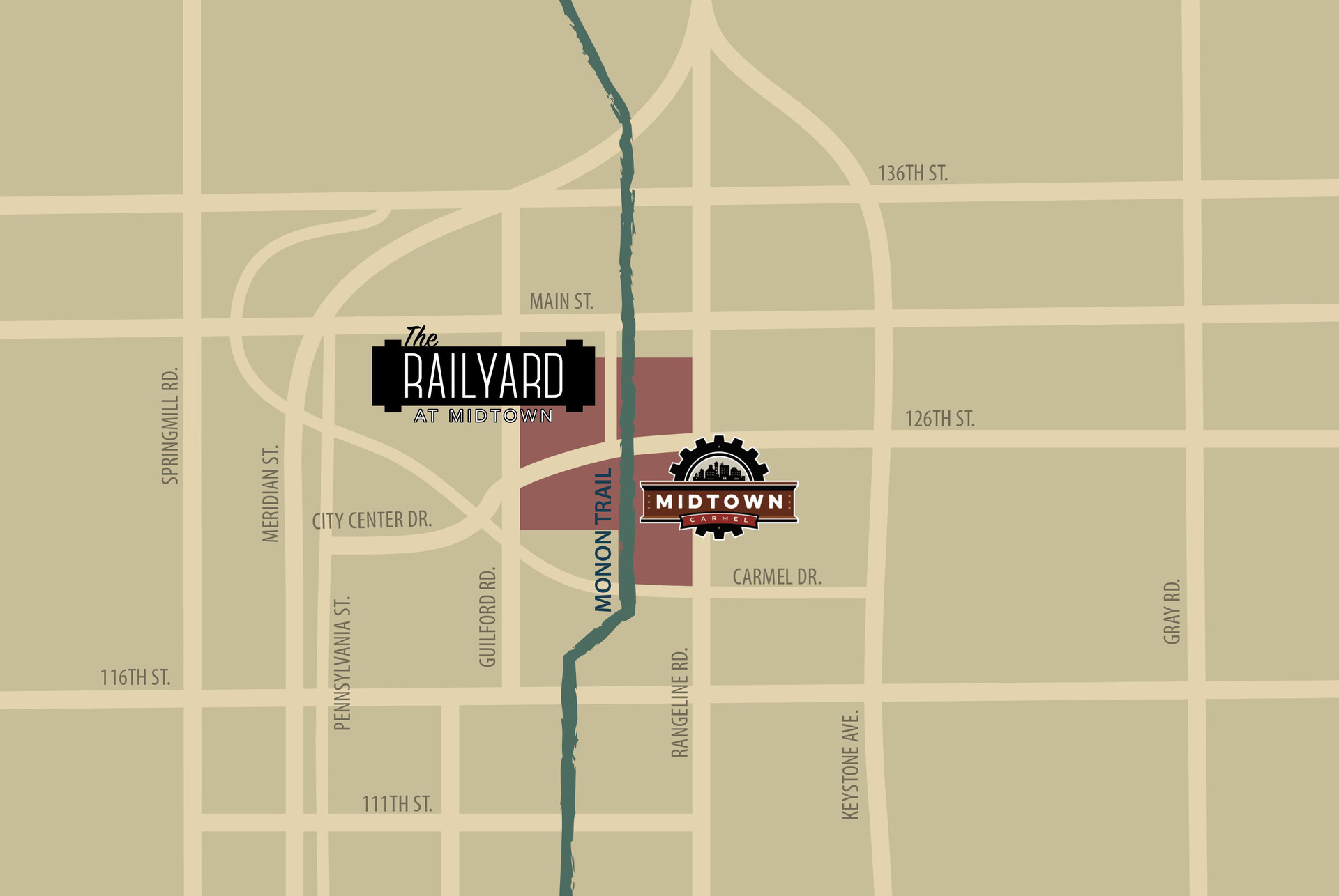Get Directions to The Railyard at Midtown