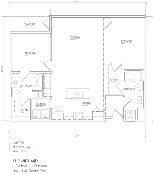 Midland 2D Floor Plan