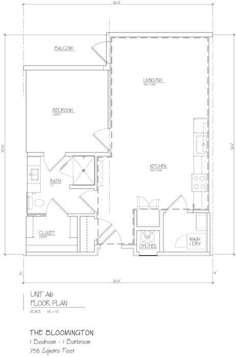 Bloomington 2D Floor Plan