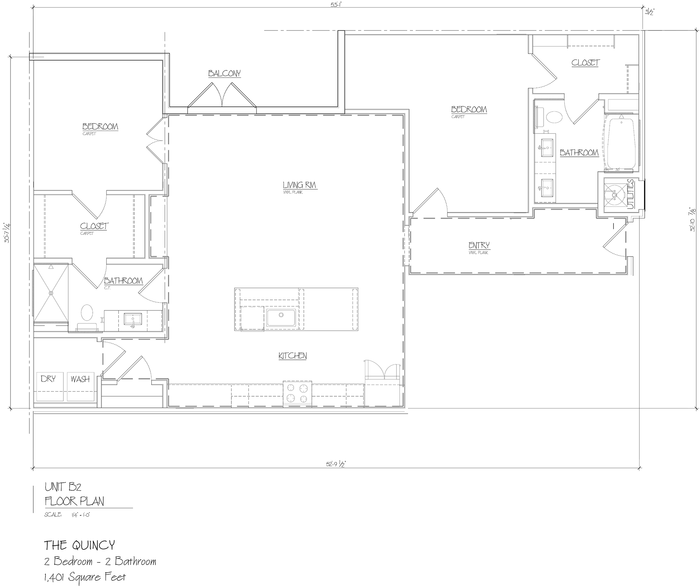 Quincy 2D Floor Plan